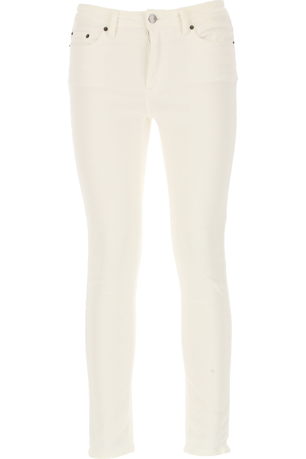Image of Acne Studios Jeans, Climb White, Cotton, 2017, 25 26 27 28 29