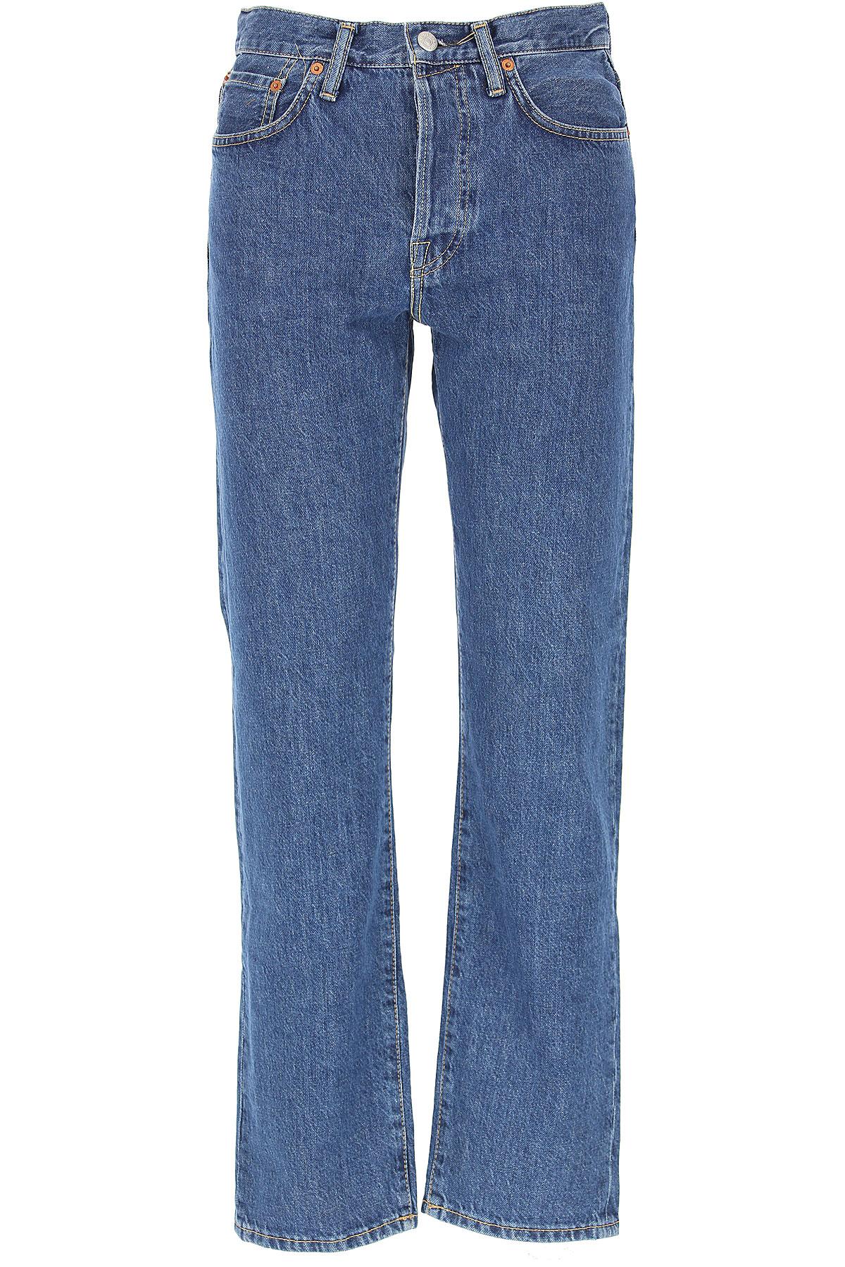 Image of Acne Studios Jeans, Dark Blue, Cotton, 2017, 25 27 29