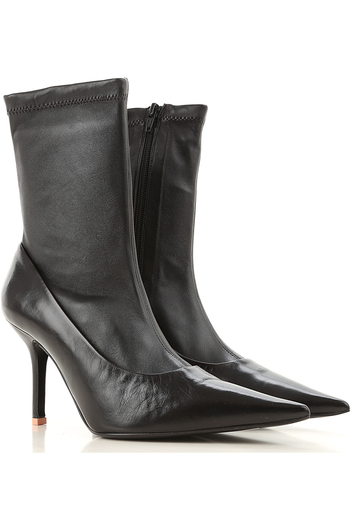 Acne Studios Boots moterims, Booties  in Outlet, juodi, oda, 2019, 37 39