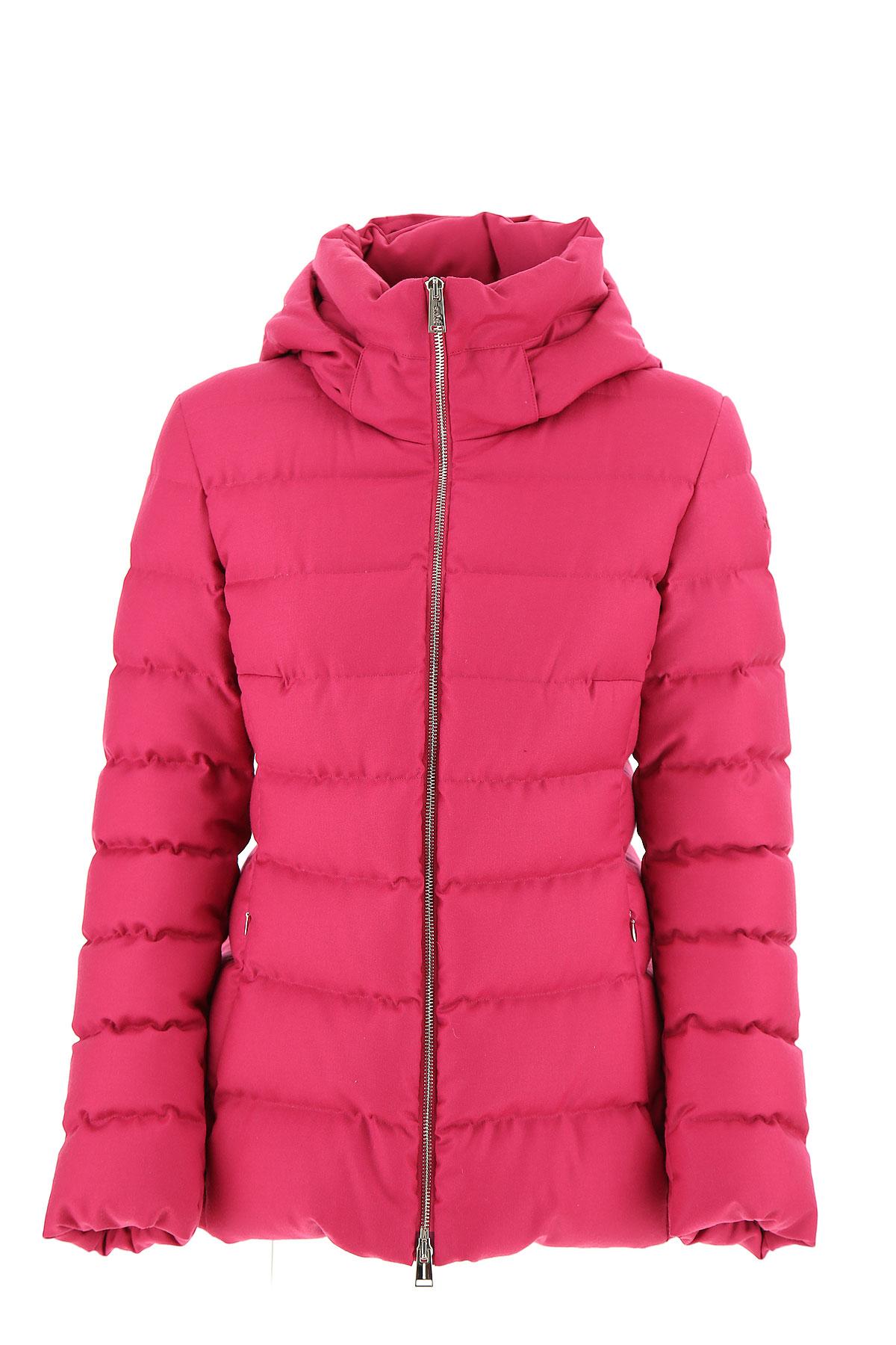 Image of ADD Down Jacket for Women, Puffer Ski Jacket On Sale, Magenta Pink, polyamide, 2017, IT 42 - US 4 - F 38 IT 44 - US 6 - F 40 IT 46 - US 8 - F 42