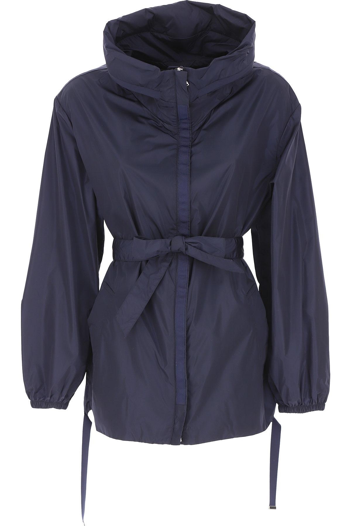 ADD Jacket for Women On Sale, Blue Ink, polyamide, 2019, 10 12 6 8