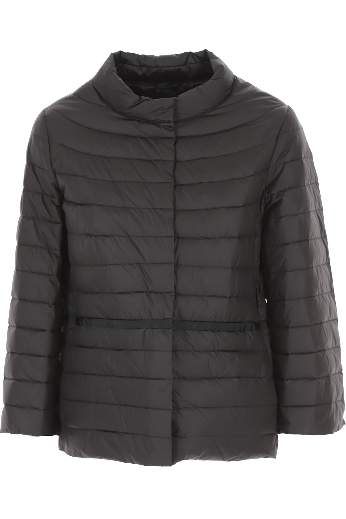 ADD Down Jacket for Women, Puffer Ski Jacket On Sale, Black, polyamide, 2019, 10 12 14 6 8