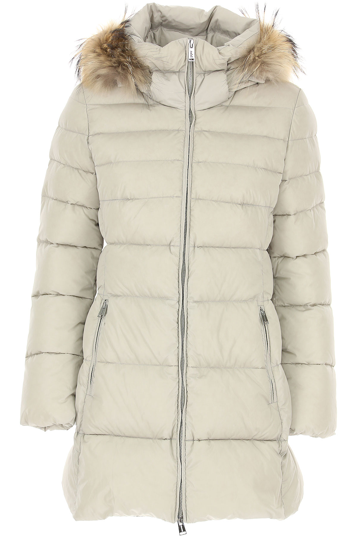Image of ADD Down Jacket for Women, Puffer Ski Jacket, Grey, polyamide, 2017, 10 12 8