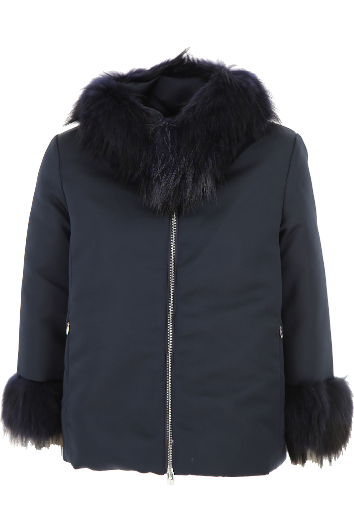 Image of ADD Down Jacket for Women, Puffer Ski Jacket On Sale, navy, polyester, 2017, IT 42 - US 4 - F 38 IT 44 - US 6 - F 40 IT 46 - US 8 - F 42