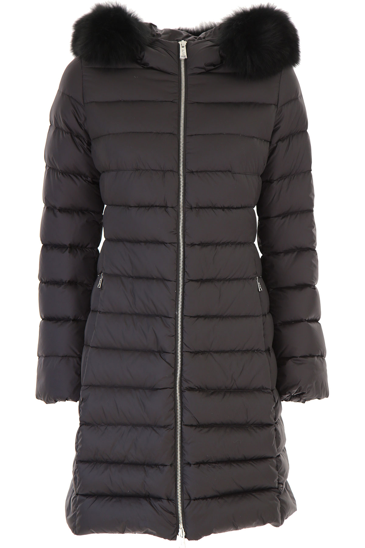 ADD Down Jacket for Women, Puffer Ski Jacket On Sale in Outlet, Black, Down, 2019, 12 4 8