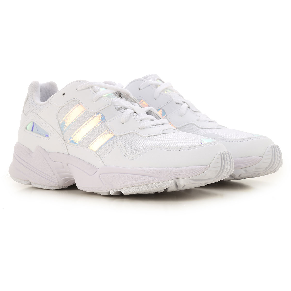 Adidas Kids Shoes for Girls On Sale, White, Leather, 2019, 37 38