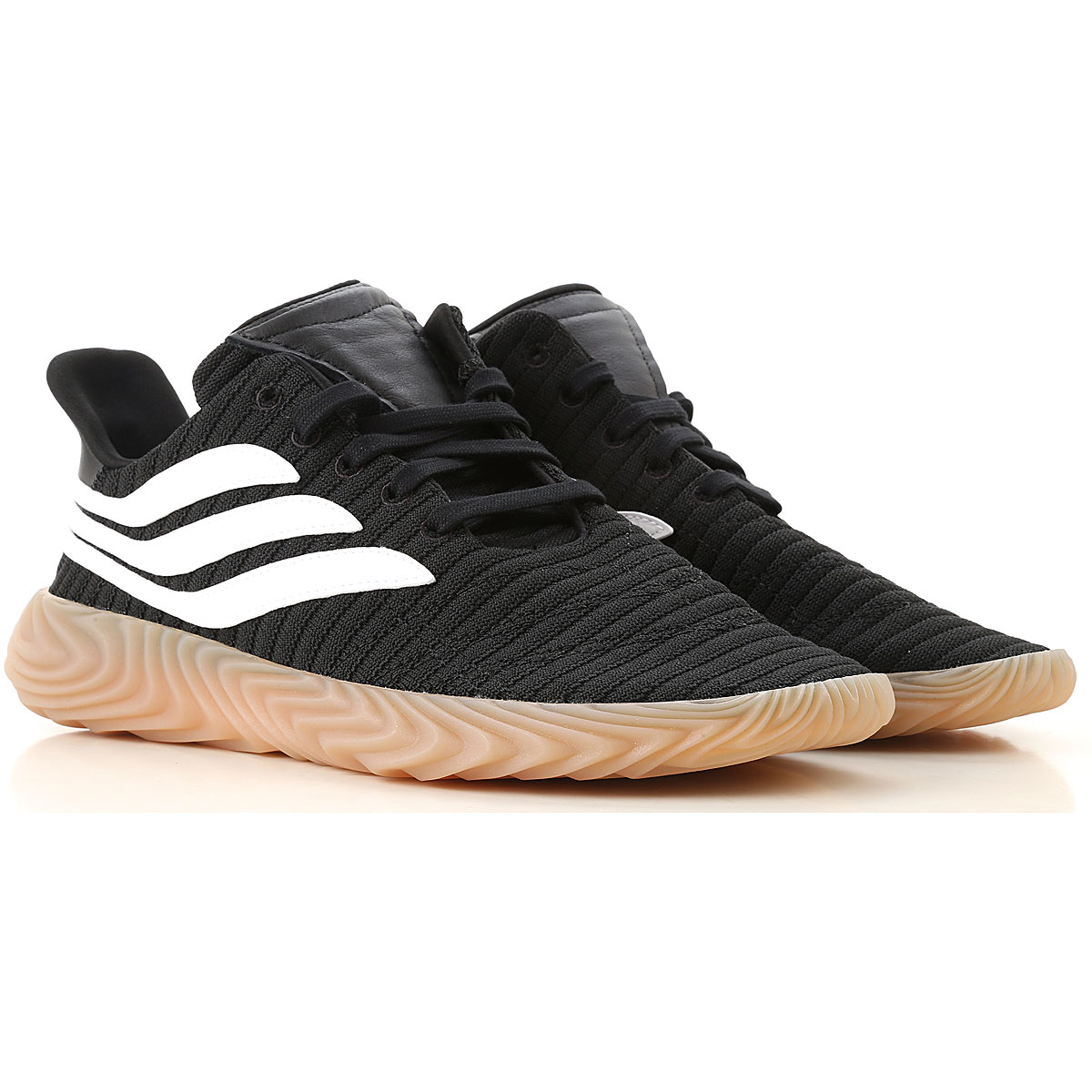 Image of Adidas Sneakers for Men, Black, Fabric, 2017, US 7 - UK 6 - EUR 40 US 7.5 - UK 7 - EU 40.5 US 7 - UK 6.5 - EU 40 US 10.5 - UK 10 - EU 44.5 US 11.5 - UK 11 - EU 45.5 US 8 1/2 - UK 8 - EU 42 US 9.5 - UK 9 - EU 43 US 10 - UK 9 1/2 - EU 44