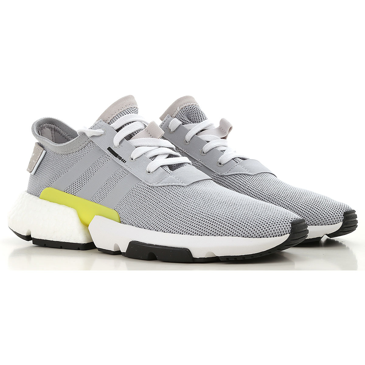 Image of Adidas Sneakers for Men, Light Grey, Canvas, 2017, US 7 - UK 6 - EUR 40 US 9.5 - UK 9 - EU 43