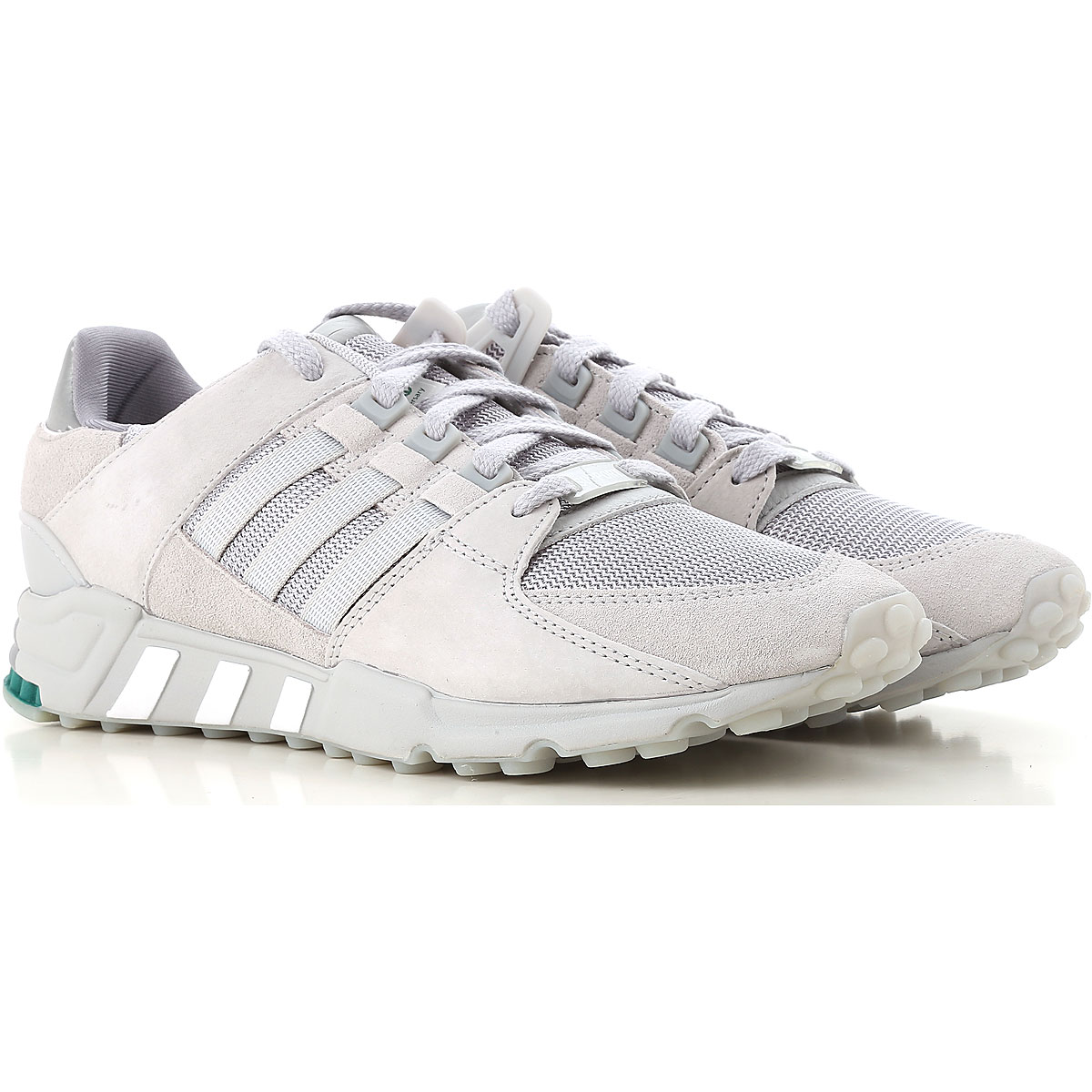 Image of Adidas Sneakers for Men, Grey, Leather, 2017, US 7 - UK 6 - EUR 40 US 7.5 - UK 7 - EU 40.5 US 7 - UK 6.5 - EU 40 US 9 - UK 8.5 - EU 42.5 US 9.5 - UK 9 - EU 43 US 10 - UK 9 1/2 - EU 44 US 11 - UK 10 1/2 - EU 45
