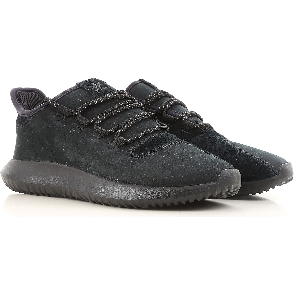 Image of Adidas Mens Shoes, Tubular Shadow, Black, Leather, 2017, US 7 - UK 6.5 - EU 40 US 9 - UK 8.5 - EU 42.5 US 10.5 - UK 10 - EU 44.5 US 8 1/2 - UK 8 - EU 42 US 9.5 - UK 9 - EU 43