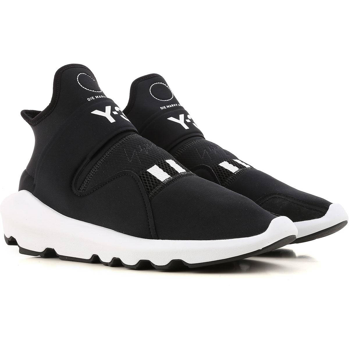 Image of Adidas Mens Shoes, Y3 Edition, Black, Fabric, 2017, 10 10.5 11 11.5 6 7 7.5 8 8.5 9 9.5