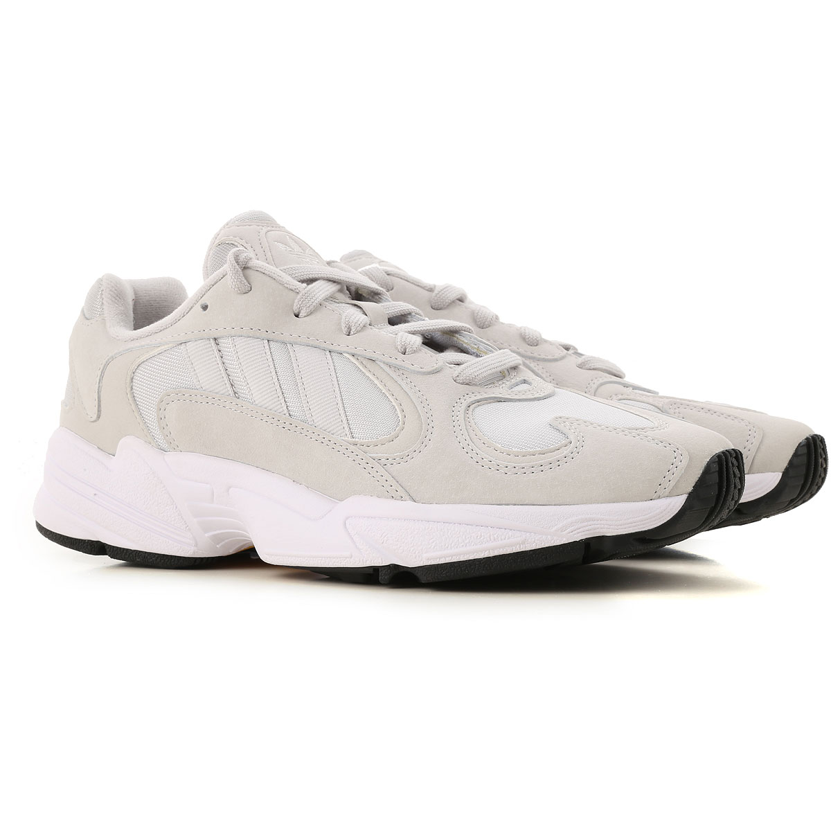 Adidas Sneakers for Men On Sale in Outlet, Light Grey, suede, 2019, US 10 - UK 9 1/2 - EU 44 US 9.5 - UK 9 - EU 43.5