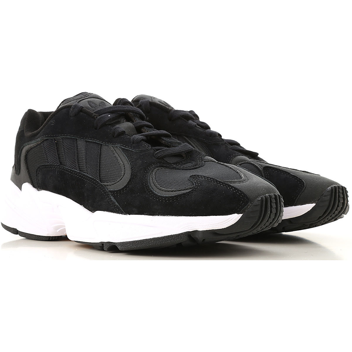 Adidas Sneakers for Men On Sale, Black, suede, 2019, 9