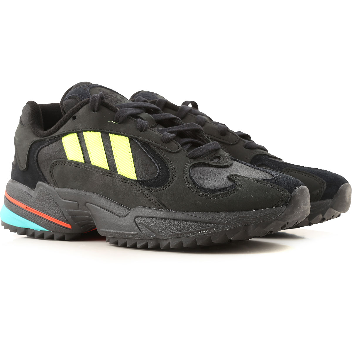 Adidas Sneakers for Men On Sale in Outlet, Black, Leather, 2019, 7 7.5 8 9