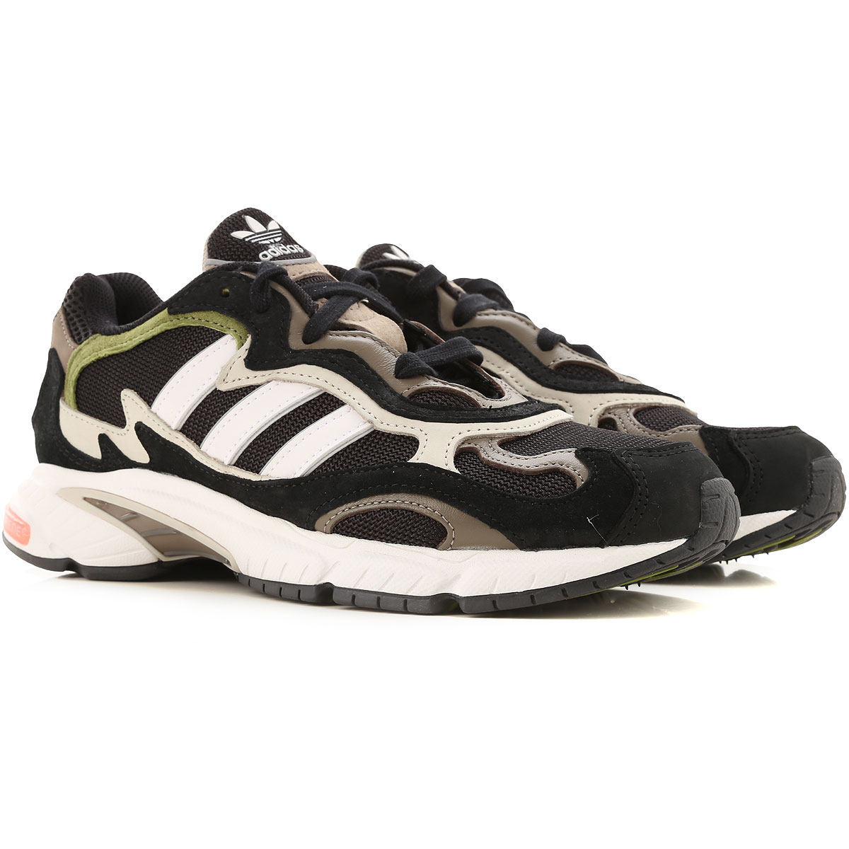 Adidas Sneakers for Men On Sale in Outlet, Black, Leather, 2019, 7 7.5 8