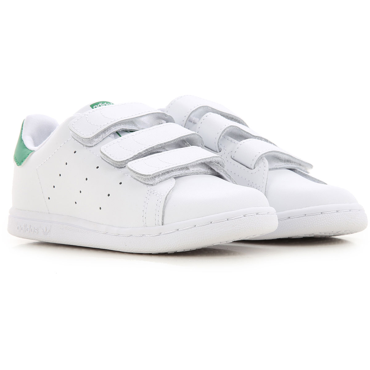 Adidas Kids Shoes for Boys On Sale, White, Leather, 2019, 22 23 26