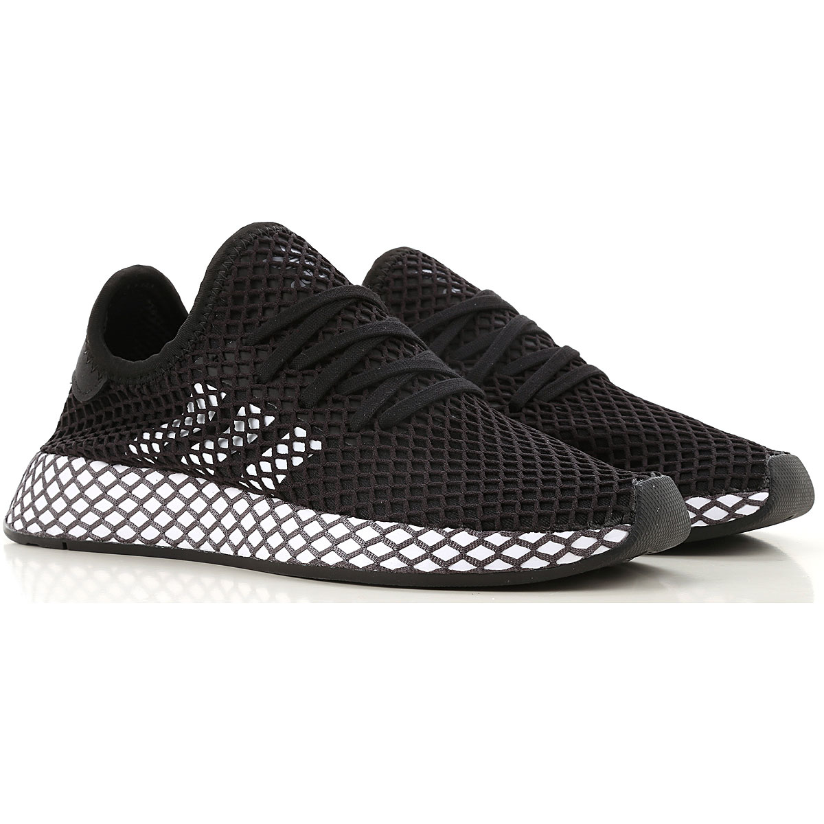Adidas Kids Shoes for Boys On Sale, Black, Fabric, 2019, UK 3.5 - EUR 36 UK 4.5 - EUR 37.5 UK 5.5 - EUR 38.5 UK 6 - EUR 39 Child 2.5 - Ita 34