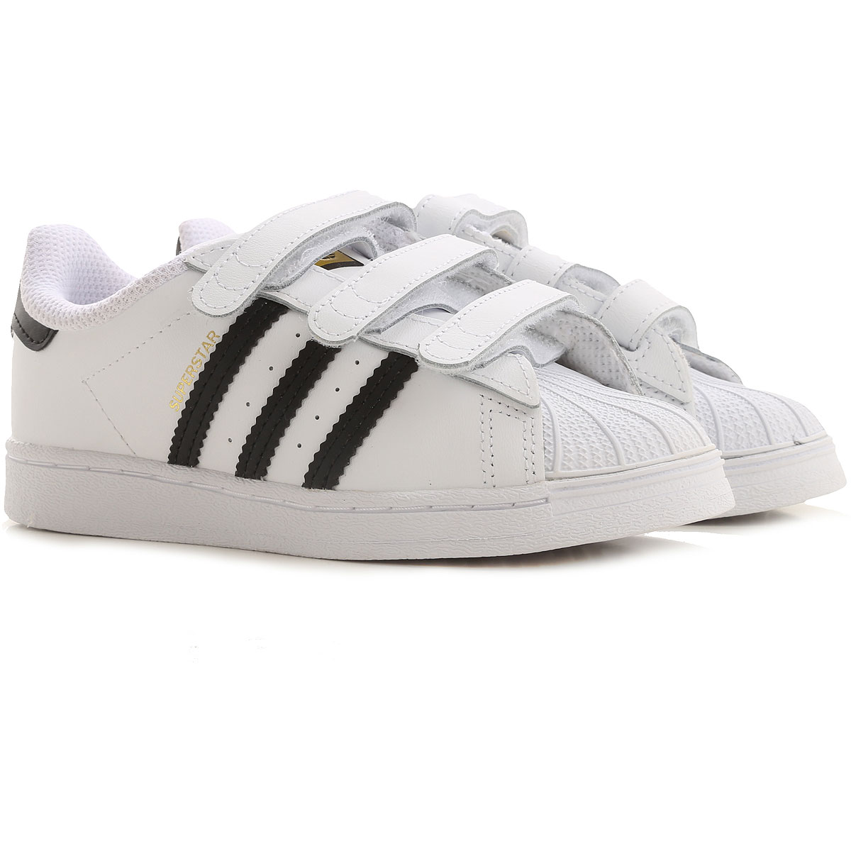 Adidas Kids Shoes for Boys On Sale, White, Leather, 2019, 20 26