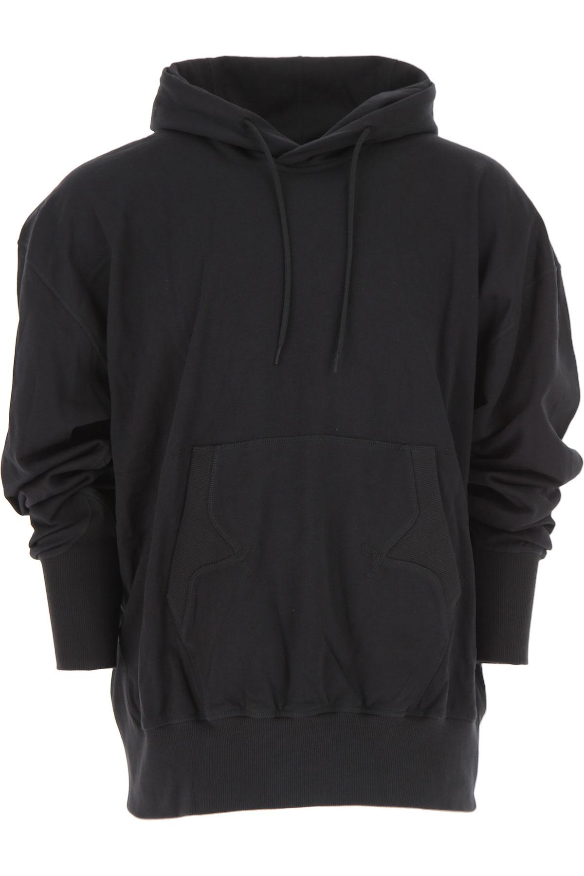 Adidas Sweatshirt for Men, Y3 Yohji Yamamoto, Black, Cotton, 2017, L S XL XS USA-476407