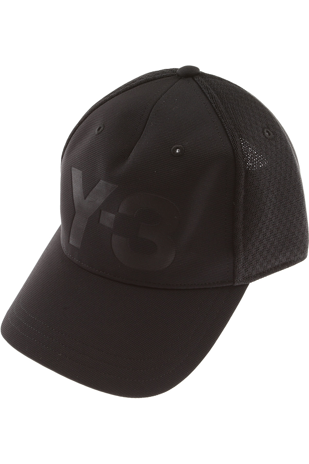 Image of Adidas Hat for Women, Yohji Yamamoto, Black, polyester, 2017