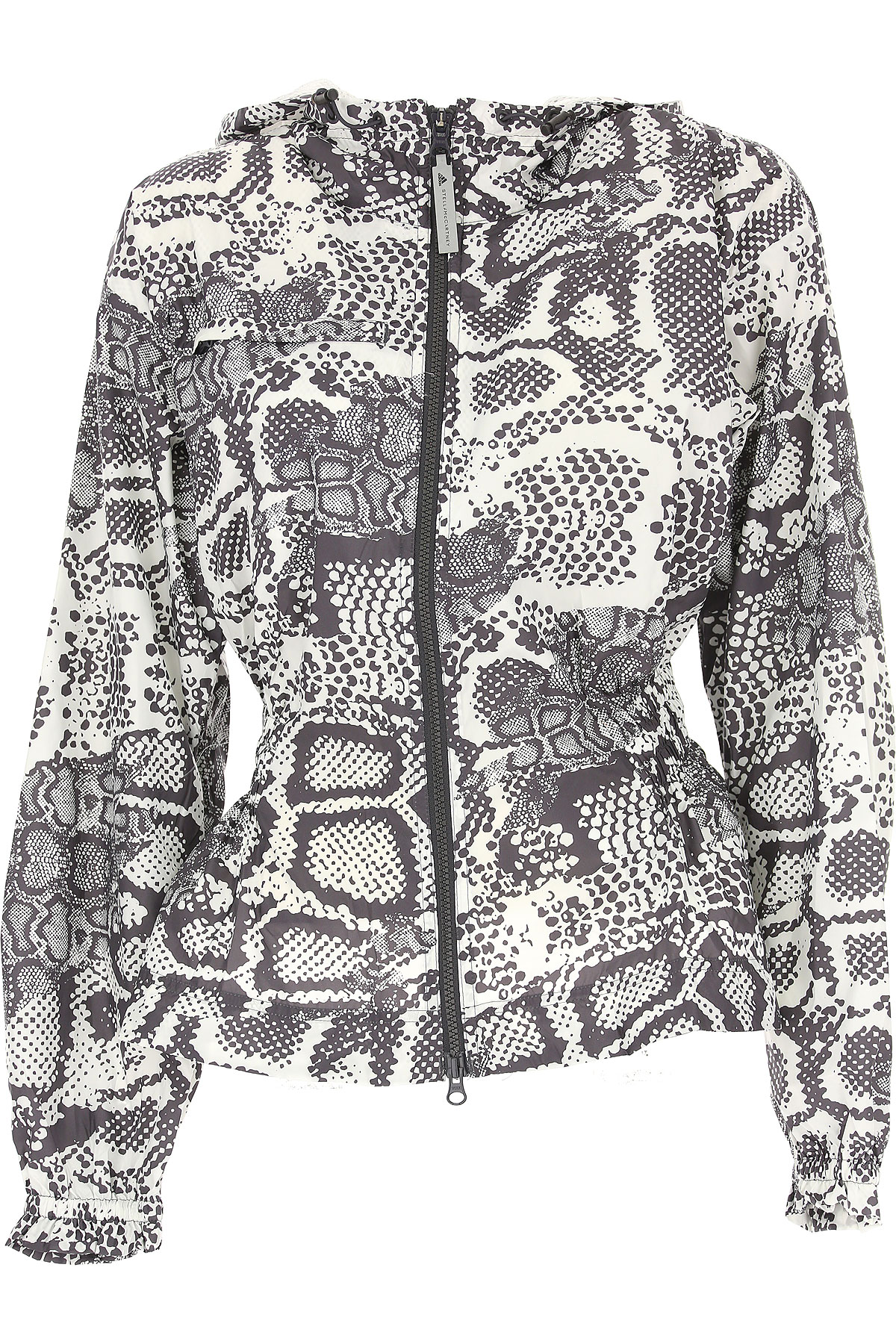 Image of Adidas Jacket for Women On Sale in Outlet, White, Polyestere Recycled, 2017, 2 4 6