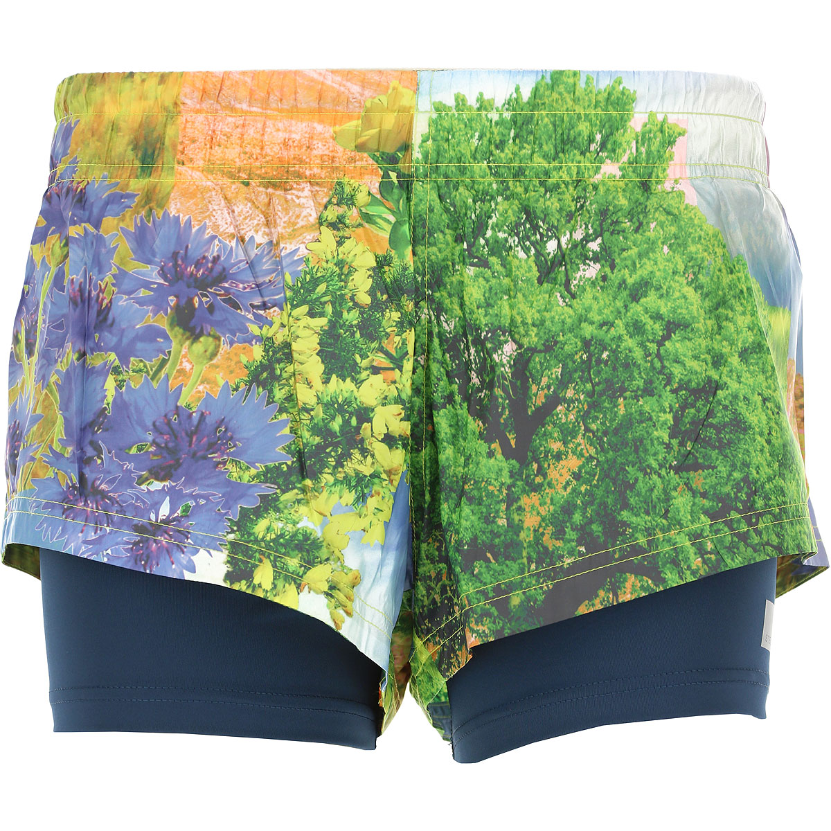 Image of Adidas Shorts for Women On Sale in Outlet, Multicolor, Polyestere Recycled, 2017, 2 4 6