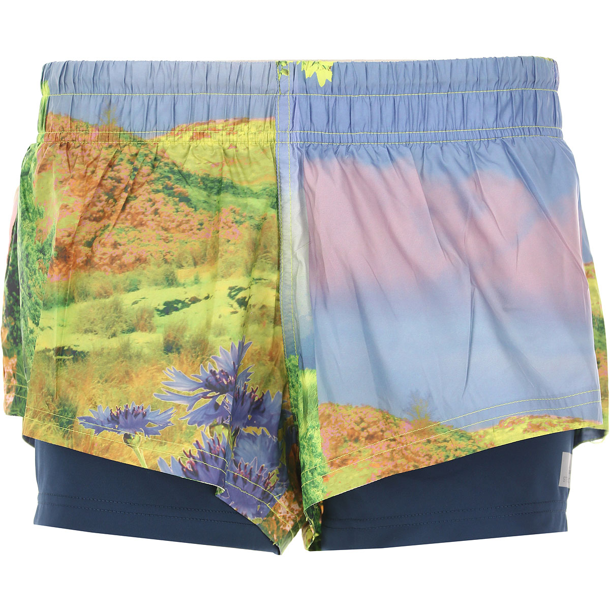 Image of Adidas Shorts for Women On Sale, Multicolor, Polyestere Recycled, 2017, 2 4 6