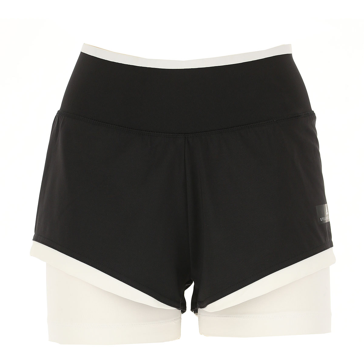 Image of Adidas Shorts for Women On Sale in Outlet, Black, Nylon, 2017, 2 4 6