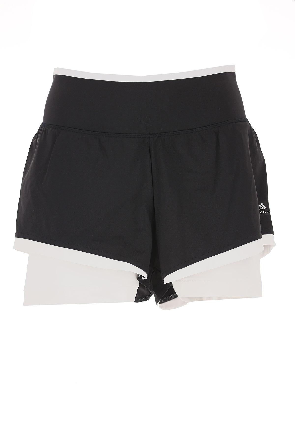 Image of Adidas Shorts for Women On Sale, Black, Nylon, 2017, 2 4 6