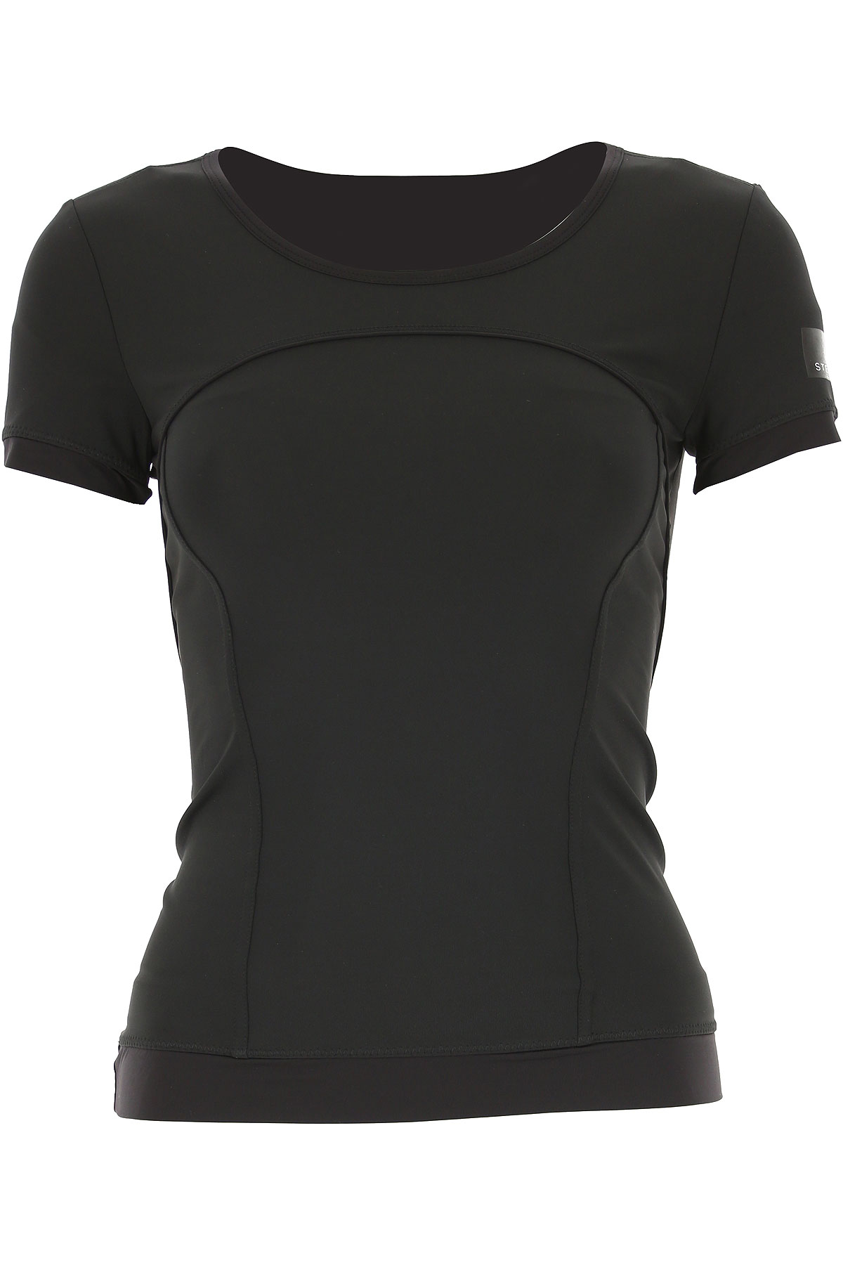 Adidas T-Shirt for Women On Sale in Outlet, Black, Polyester Recycled, 2019, 2 6