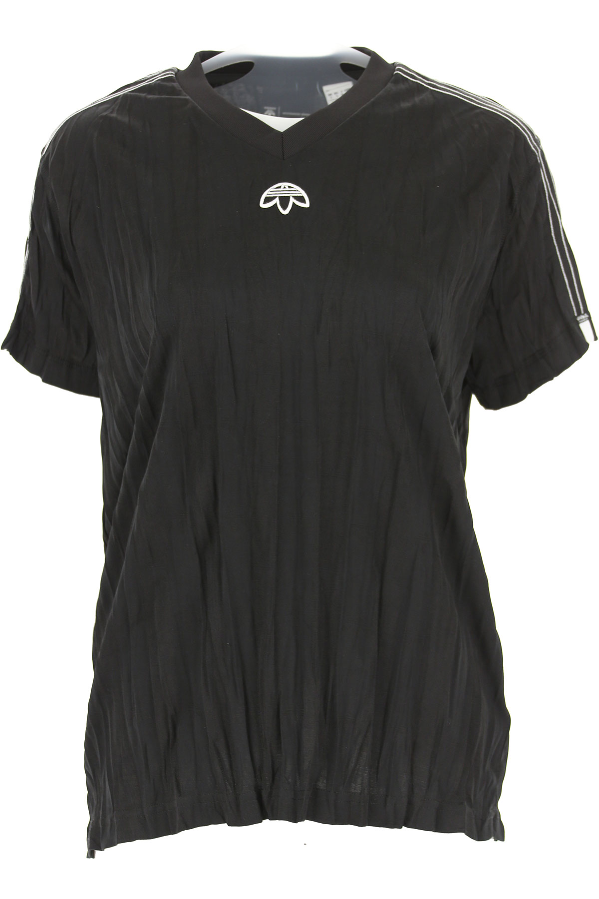 Image of Adidas T-Shirt for Women, By Alexander Wang, Black, polyestere, 2017, 10 2 4 6 8