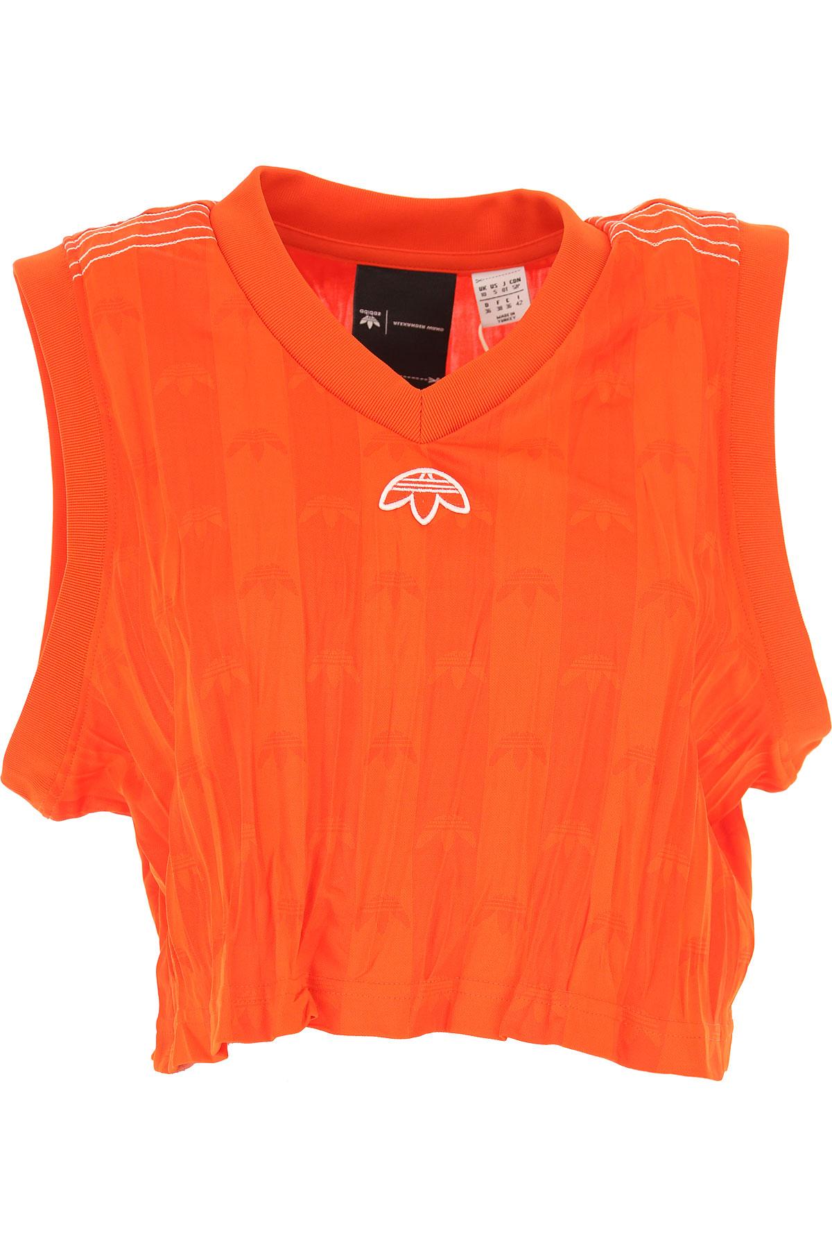 Image of Adidas T-Shirt for Women, Orange, polyestere, 2017, 10 6