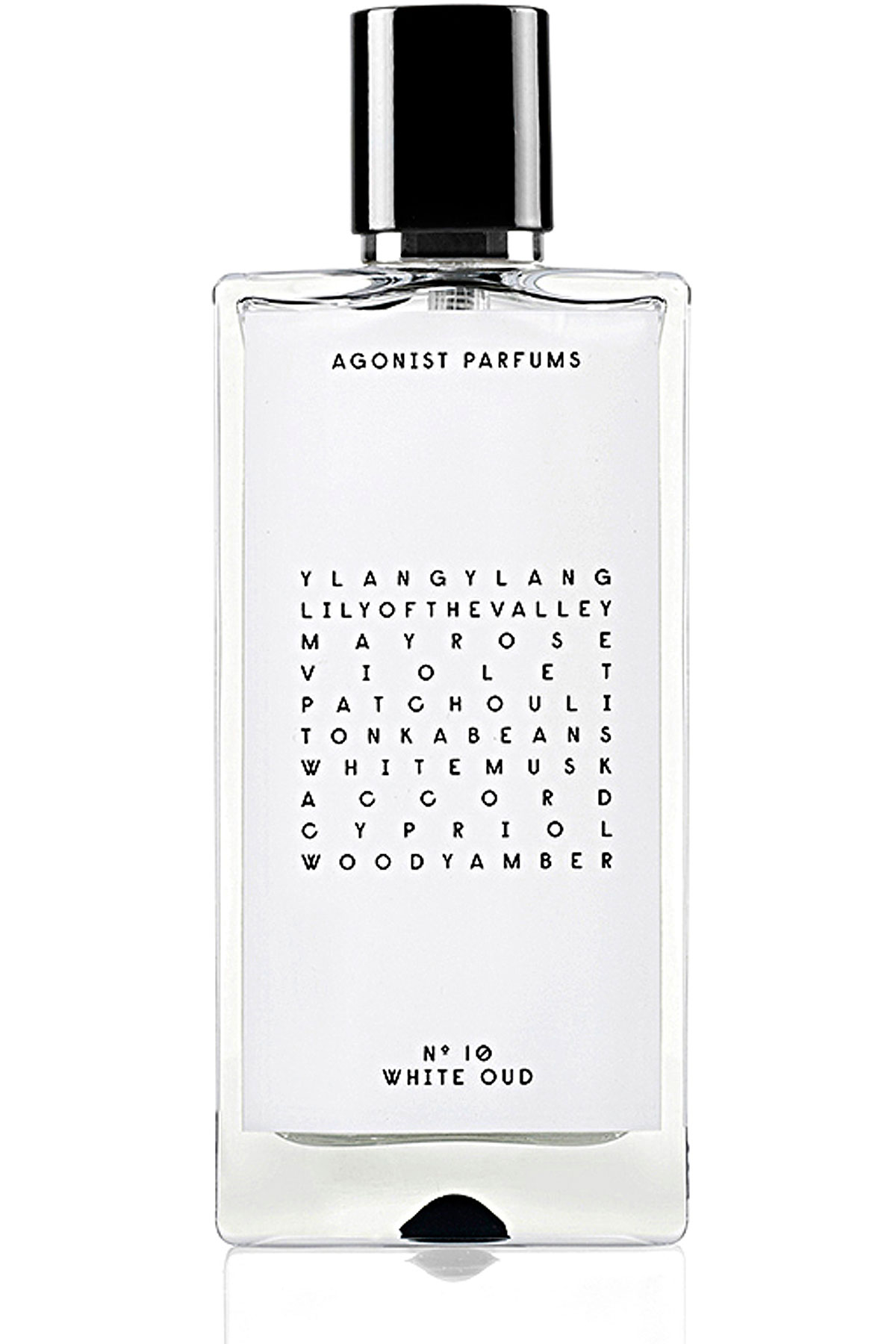 Agonist Fragrances for Men, No 10 White Oud - Eau De Parfum - 50 Ml, 2019, 50 ml