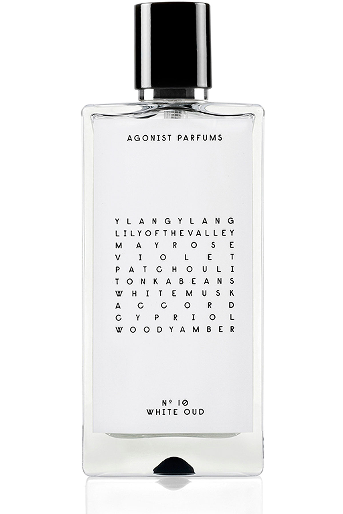 Agonist Fragrances for Women, N10 White Oud - Eau De Parfum - 50 Ml, 2019, 50 ml