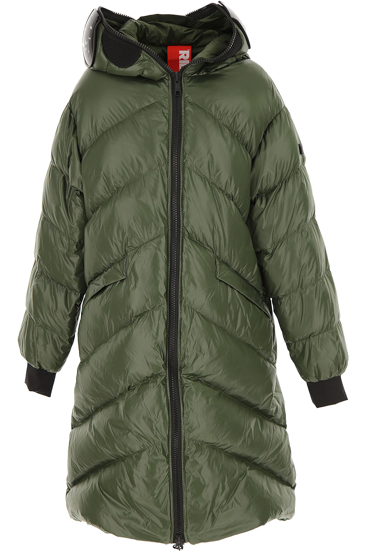 Ai Riders On The Storm Girls Down Jacket for Kids, Puffer Ski Jacket On Sale, Green, Nylon, 2019, 14Y 16Y