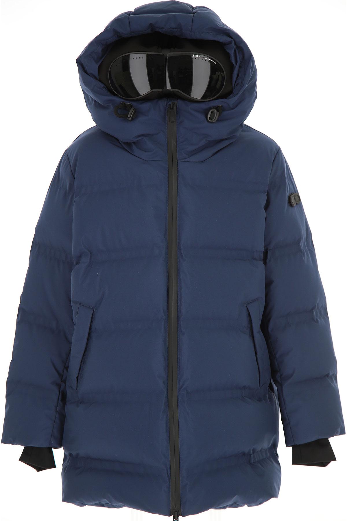 Ai Riders On The Storm Boys Down Jacket for Kids, Puffer Ski Jacket On Sale, Deep Blue, polyester, 2019, 10Y 12Y 14Y 16Y 4Y 6Y 8Y