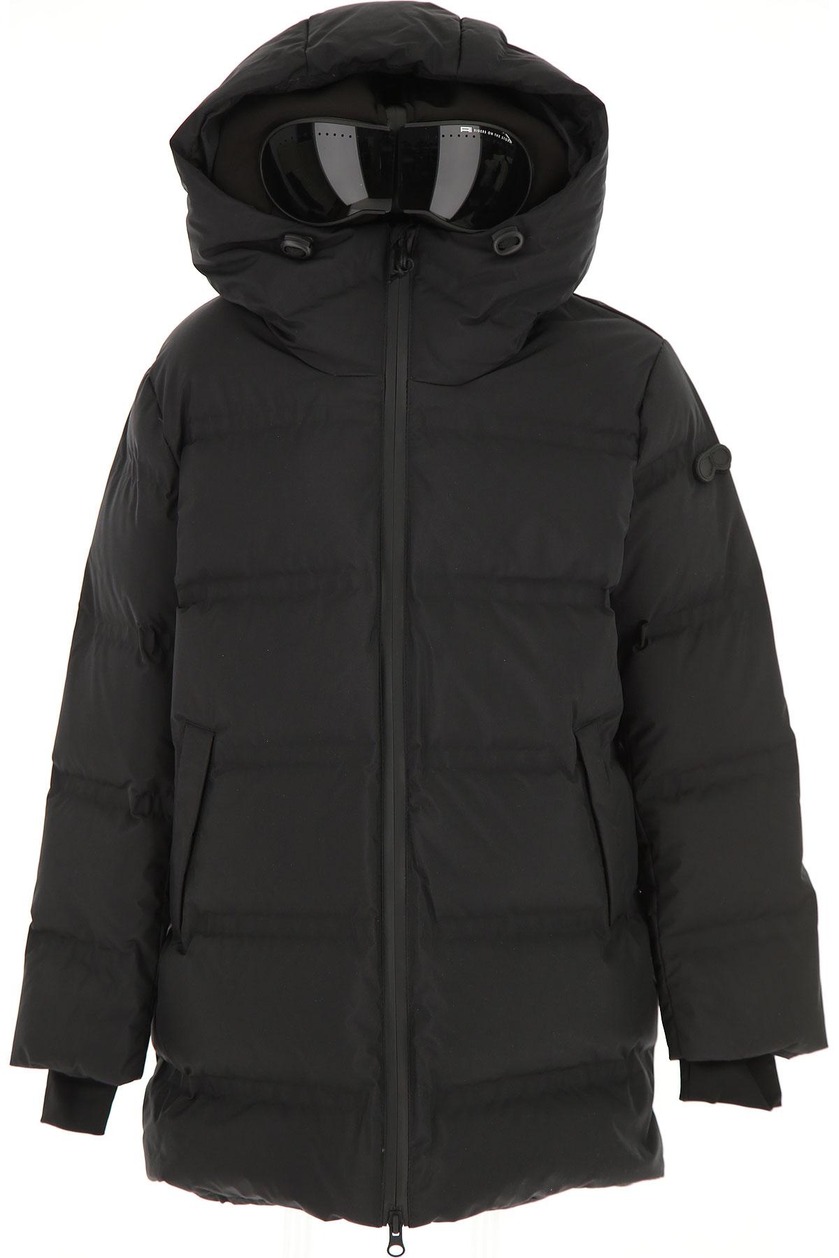 Ai Riders On The Storm Boys Down Jacket for Kids, Puffer Ski Jacket On Sale, Black, polyester, 2019, 10Y 12Y 14Y 16Y 4Y 6Y 8Y