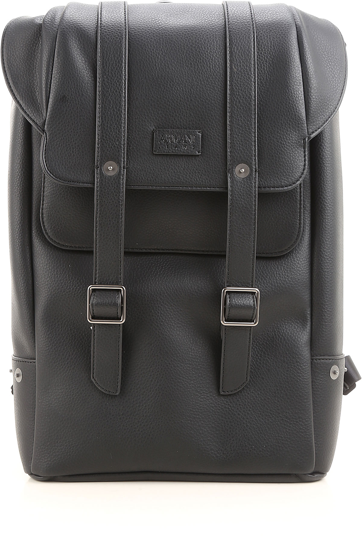 Image of Armani Jeans Backpack for Men On Sale, Blue, Synthetic Leather, 2017