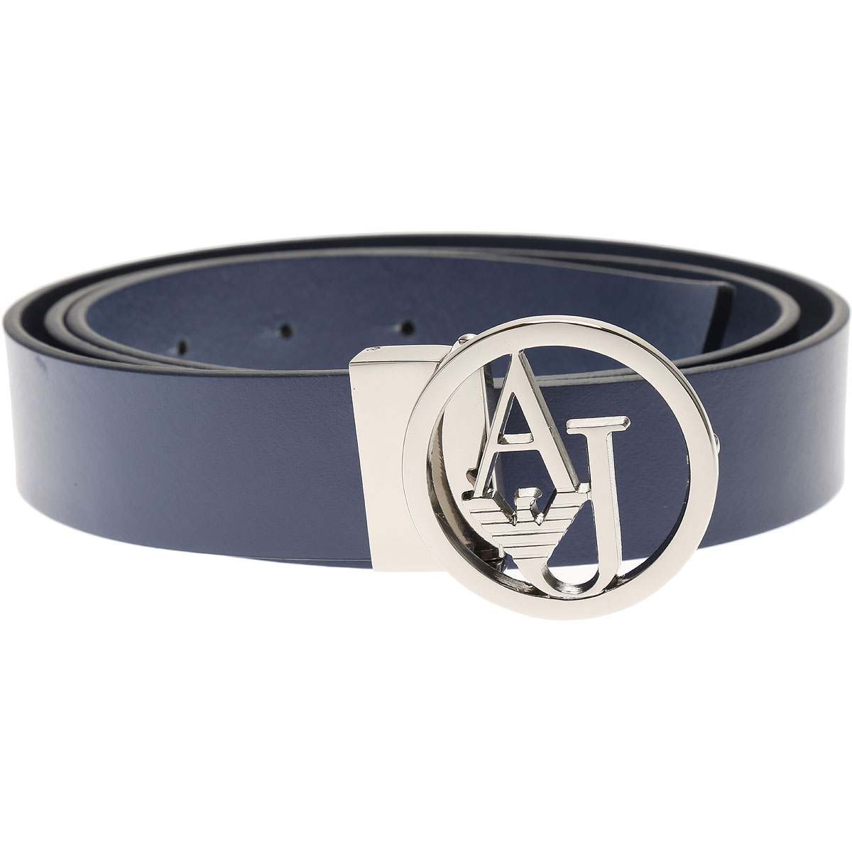 Image of Armani Jeans Womens Belts On Sale in Outlet, Blue, Leather, 2017