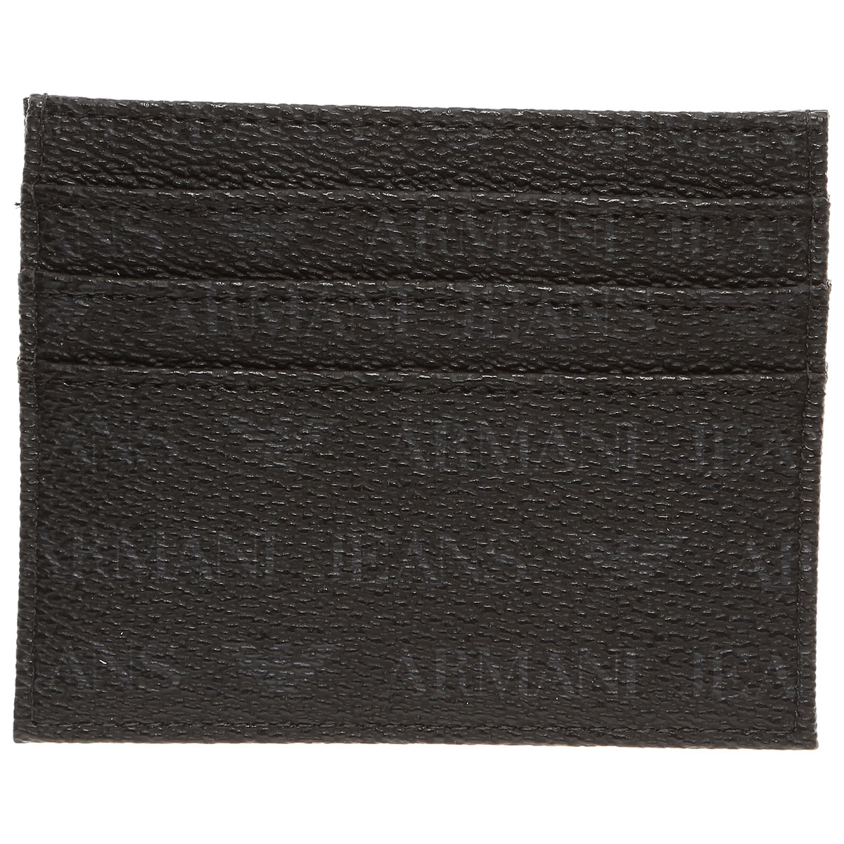 Image of Armani Jeans Card Holder for Men On Sale, Black, Pvo, 2017