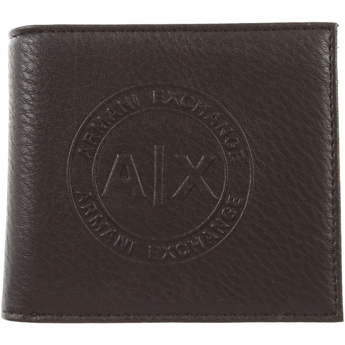Image of Armani Jeans Wallet for Men, Black, polyester, 2017