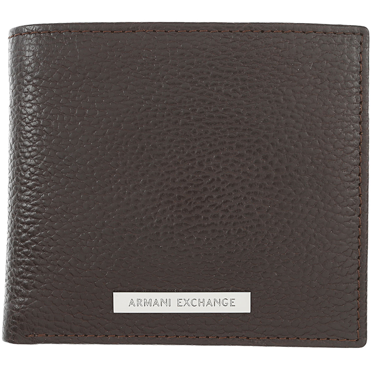 Image of Armani Jeans Wallet for Men, Dark Brown, Leather, 2017