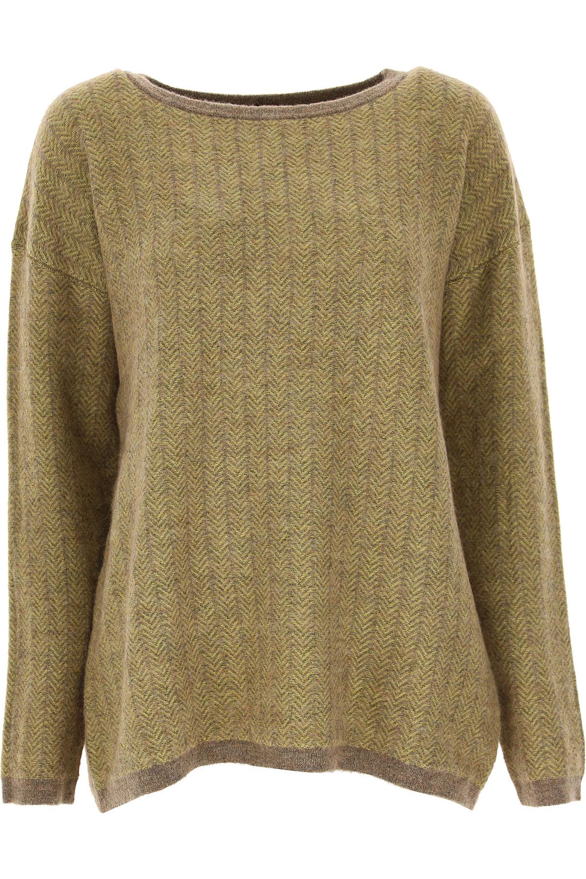 Image of Massimo Alba Sweater for Women Jumper, Yellow, Wool, 2017, 4 6 8
