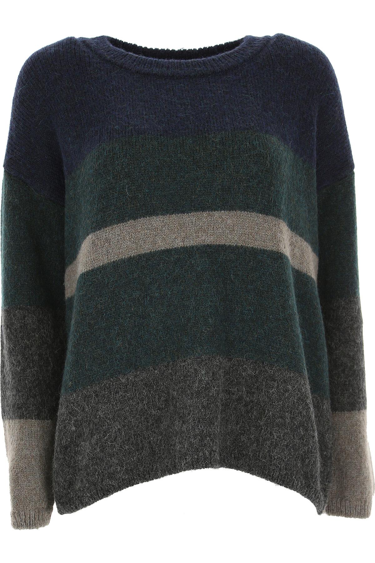 Image of Massimo Alba Sweater for Women Jumper, Dark Blue, alpaca, 2017, 6 8