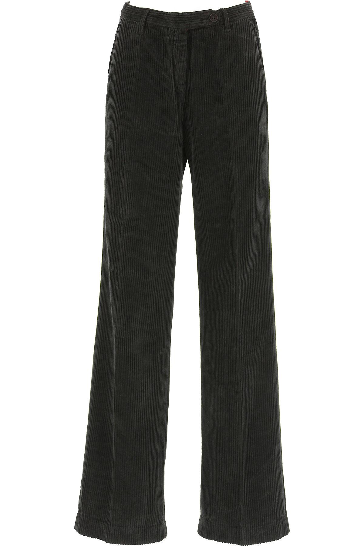 Image of Massimo Alba Pants for Women, Black, Cotton, 2017, 24 26 28 30