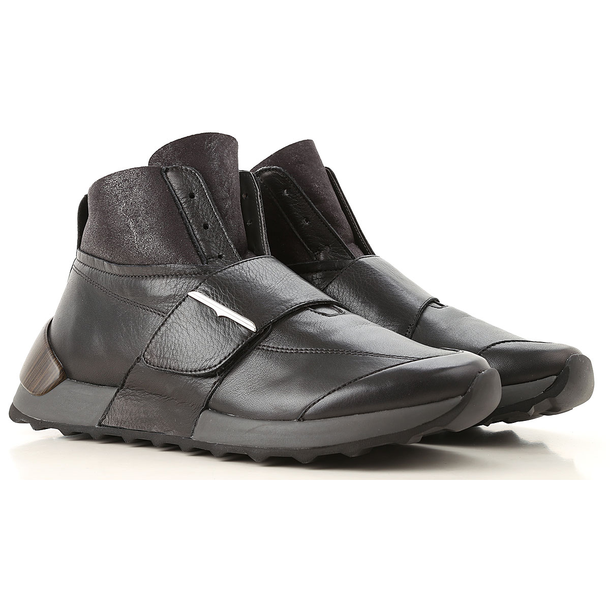Image of Alberto Guardiani Sneakers for Men, Black, Leather, 2017, 10 10.5 11.5 7.5 8 9