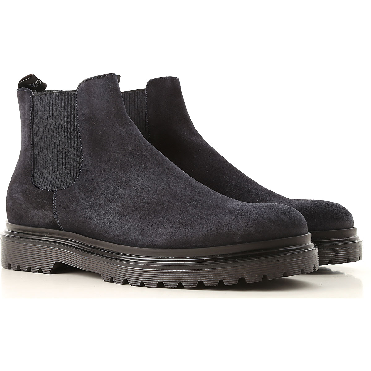 Image of Alberto Guardiani Boots for Men, Booties, Dark Midnight Blue, Suede leather, 2017, 10 10.5 11.5 7.5 8 9