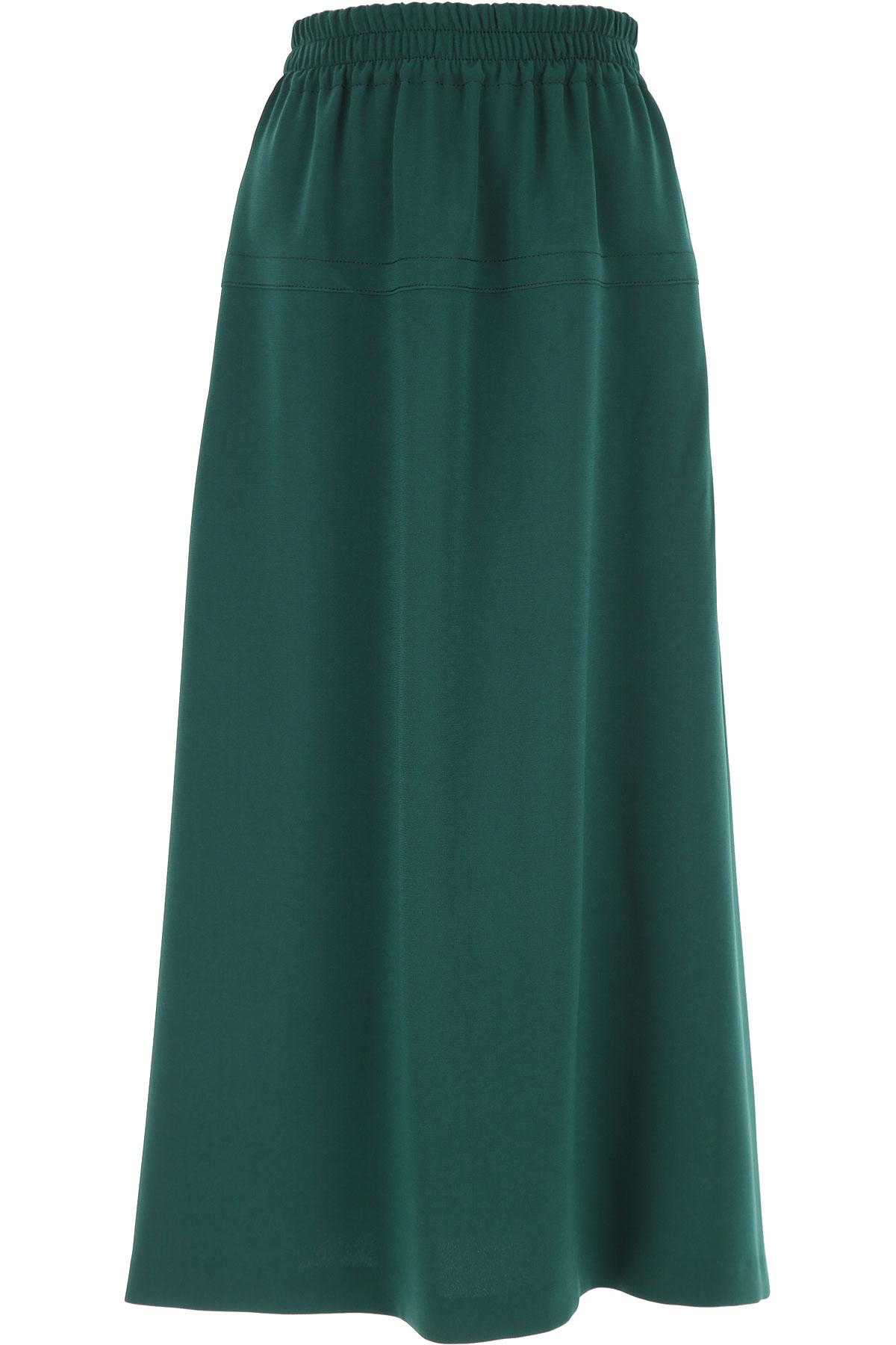Alberto Biani Skirt for Women On Sale, Green, Triacetate, 2019, S (IT 40) M (IT 42 )