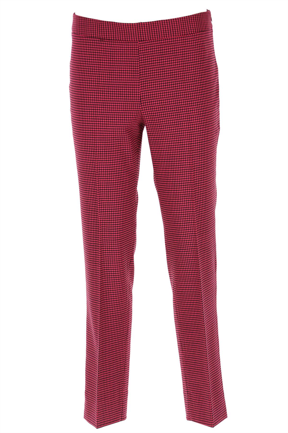 Alberto Biani Pants for Women On Sale, Fuchsia, Wool, 2019, 26
