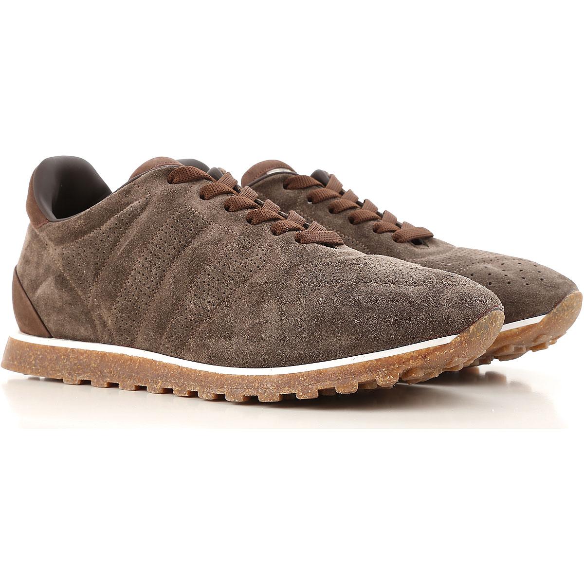 Alberto Fasciani Sneaker Homme Pas cher en Soldes, Marron, Daim, 2017, 39.5 42